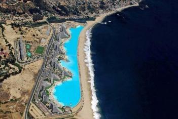 Басейн- най-големият в света, Сан Алфонси, Чили, the biggest swimming pool in the world