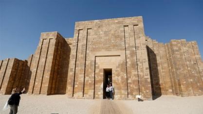 Египетските пирамици- най-старата пираимда в Египет на Фараон Джосер