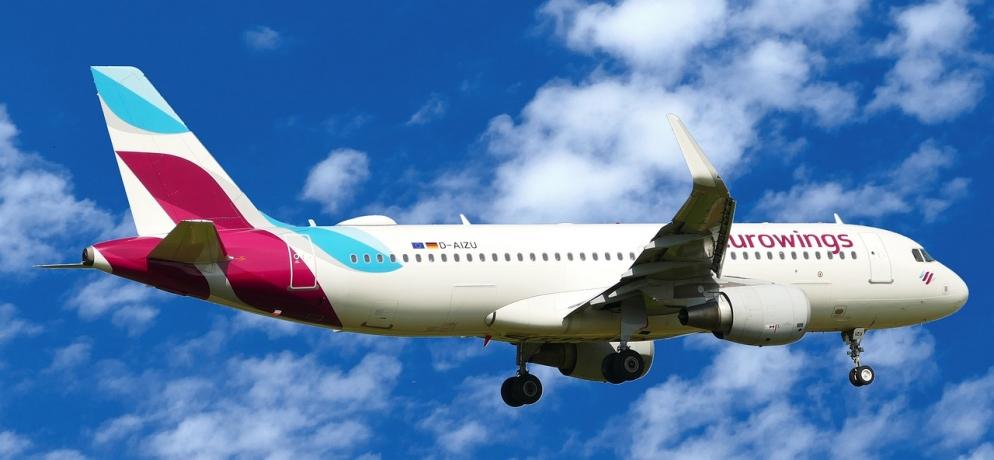 Самолет Eurowings полети София