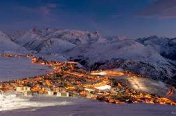 Ски курорти във Франция