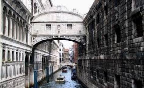 Мостът на въздишките Венеция-Италия