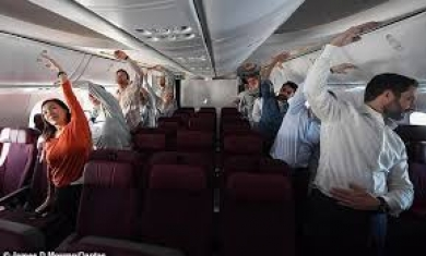 По време на полет