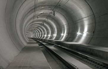 Тунел швейцария - Най-дължият железопътен тунел в света