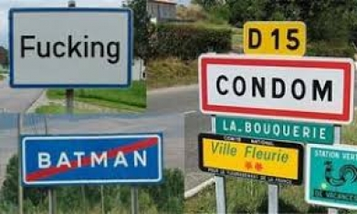Странни имена на градове